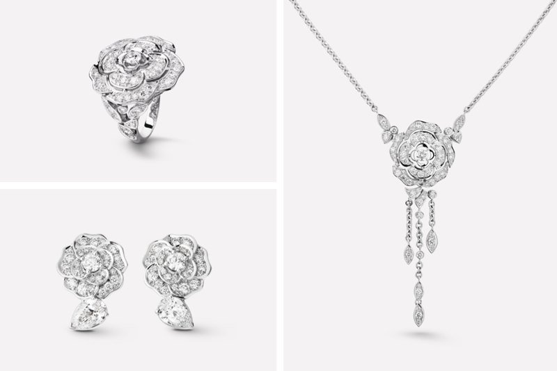 Chanel Camélia jewelry Collection