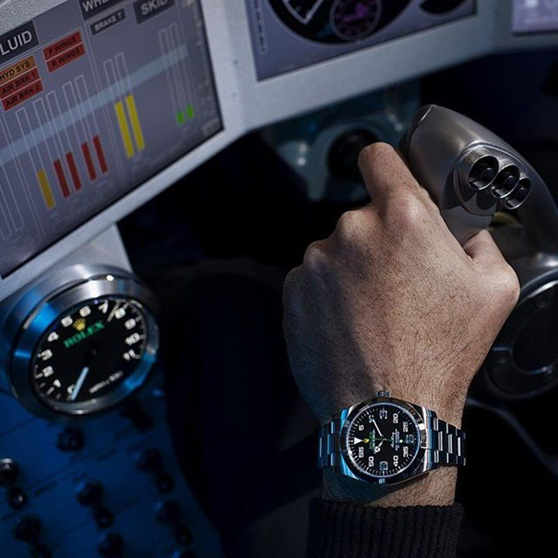 Rolex Air King Watch Review 6
