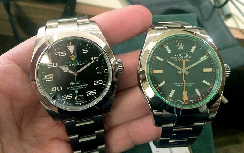 Rolex Air King Watch Review 4