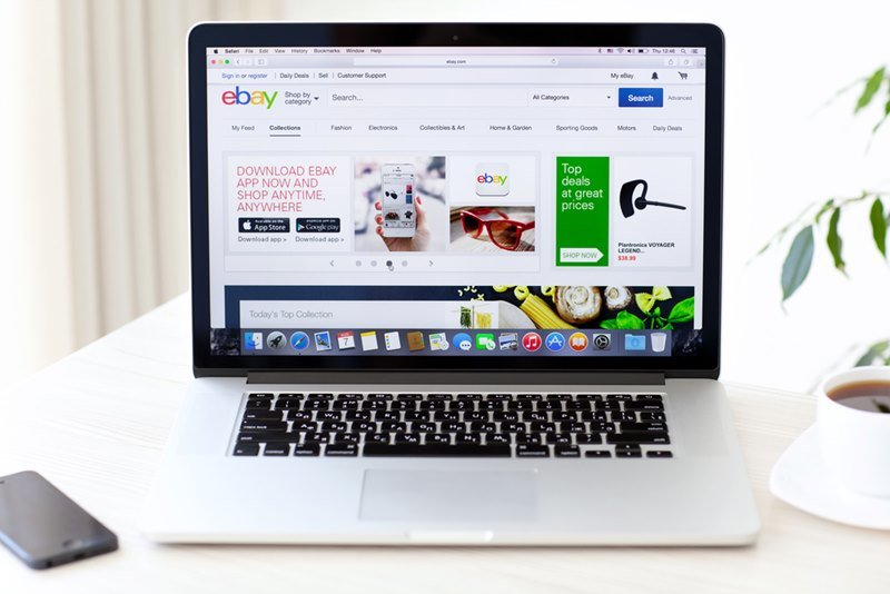Browsing Ebay from an Apple Laptop