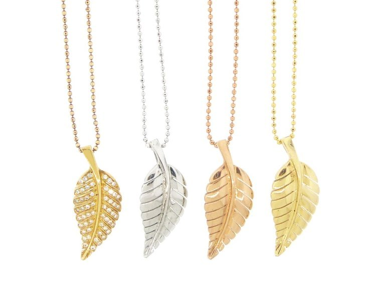 Jennifer Meyer Leaf Jewellery