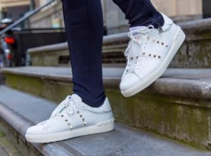 Valentino Garavani Rockstud Sneakers (White) Review