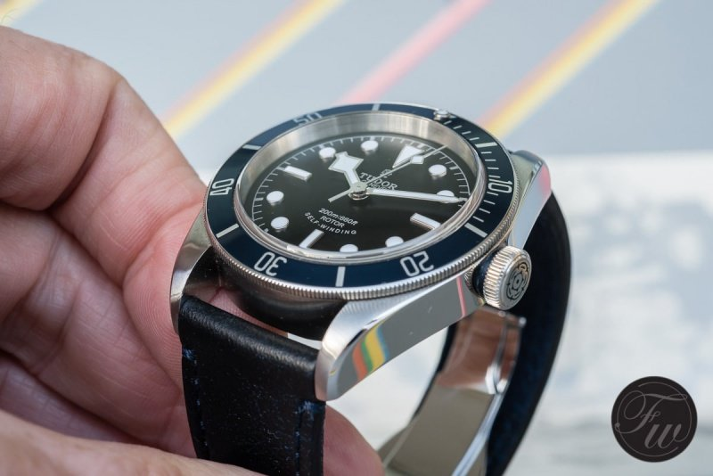 Tudor Heritage Black Bay 79220B Watch Review 4