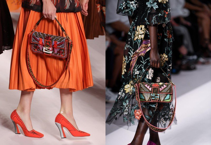 Fendi's Cult Favorite Baguette Makes Its Way Back to the Runway 2