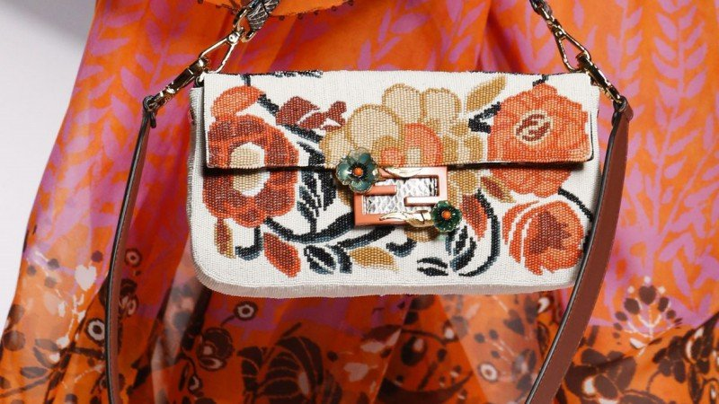 Fendi's Cult Favorite Baguette Makes Its Way Back to the Runway 1