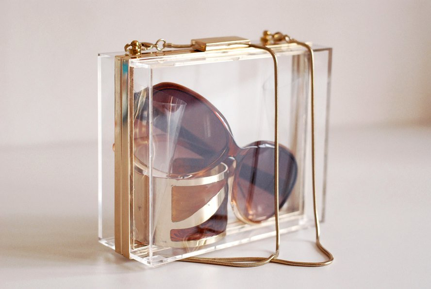 See Through Designer Handbags to Have When You Just Couldn't Care Less