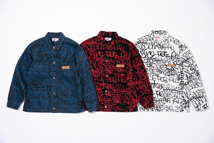 superior quality e913b 2f3c1  Tis Time for the Hype Again  A New Supreme and COMME des GARÇONS SHIRT Has  Dropped