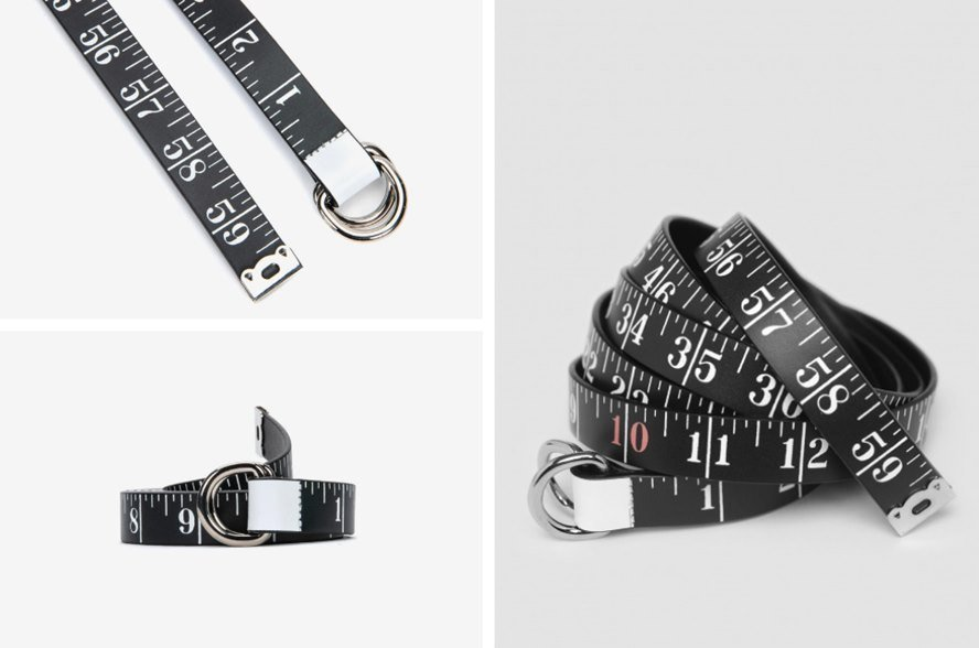 A Belt and a Measuring Tape in One - Maison Margiela Shows It Can Be Done