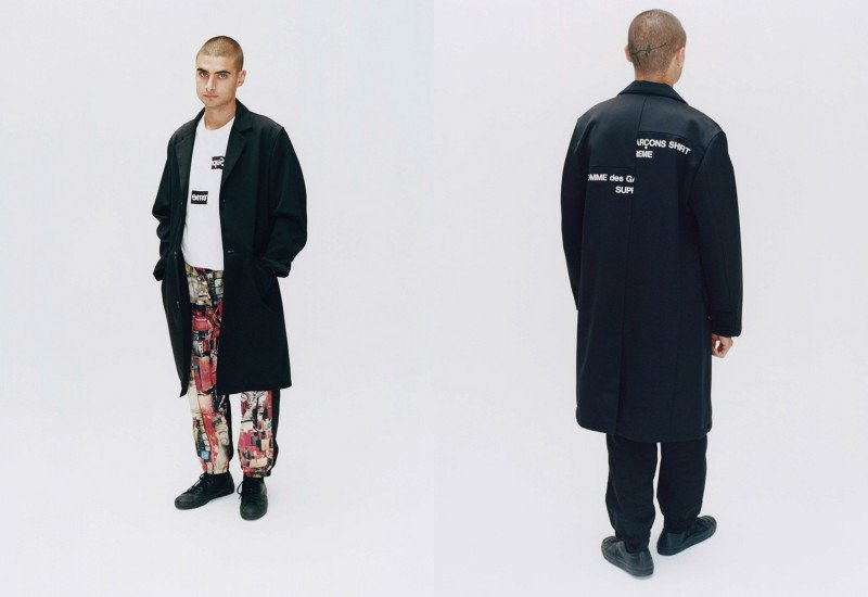 'Tis Time for the Hype Again A New Supreme and COMME des GARÇONS SHIRT Collab Has Dropped 5