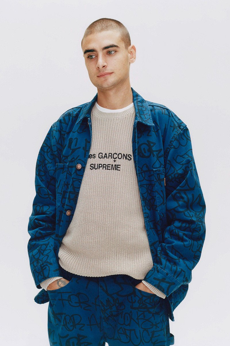 'Tis Time for the Hype Again A New Supreme and COMME des GARÇONS SHIRT Collab Has Dropped 4