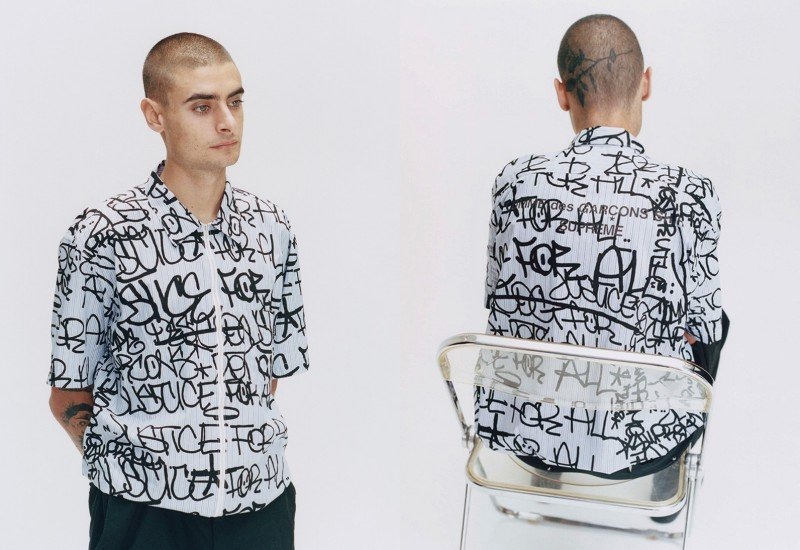 'Tis Time for the Hype Again A New Supreme and COMME des GARÇONS SHIRT Collab Has Dropped 2