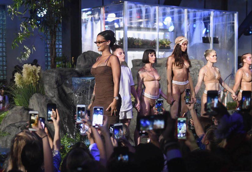 Empowering Show from Rihanna Ends 2018 New York Fashion Week