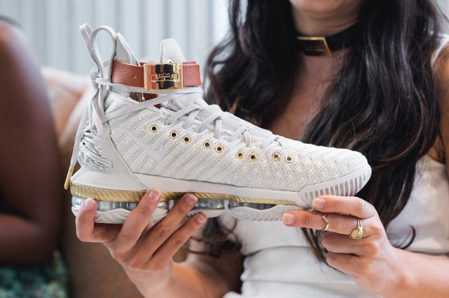 timeless design aab03 03165 There's a New LeBron James Women's Sneaker - HFR X LeBron 16