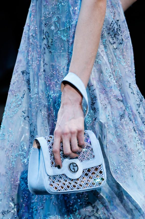 Eye-catching Bags from Giorgio Armani Spring 2019 Fashion Show - Photo 32