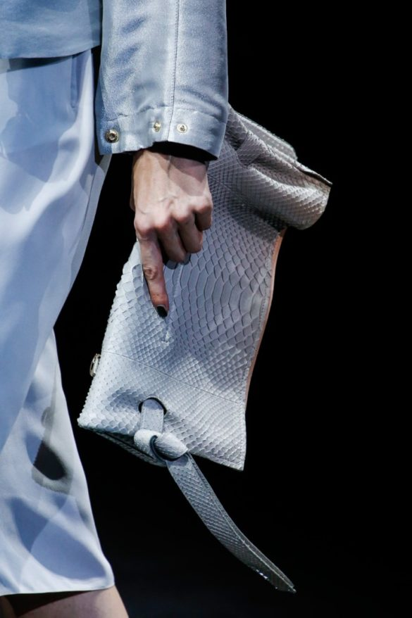 Eye-catching Bags from Giorgio Armani Spring 2019 Fashion Show - Photo 2
