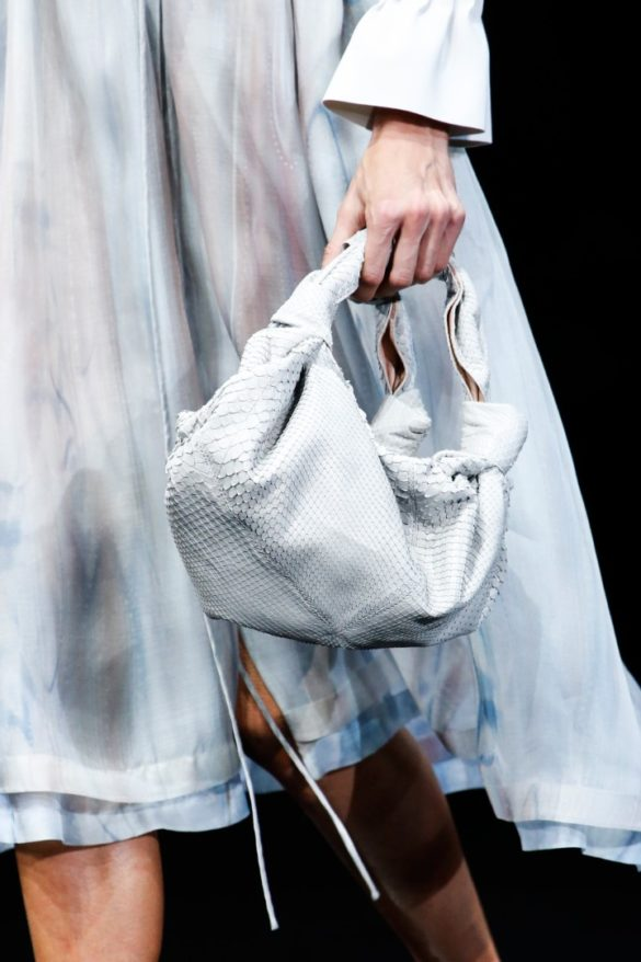 Eye-catching Bags from Giorgio Armani Spring 2019 Fashion Show - Photo 1