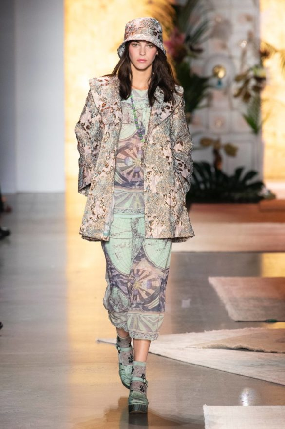 Anna Sui Spring-Summer 2019 Ready-to-Wear Collection - Photo 47