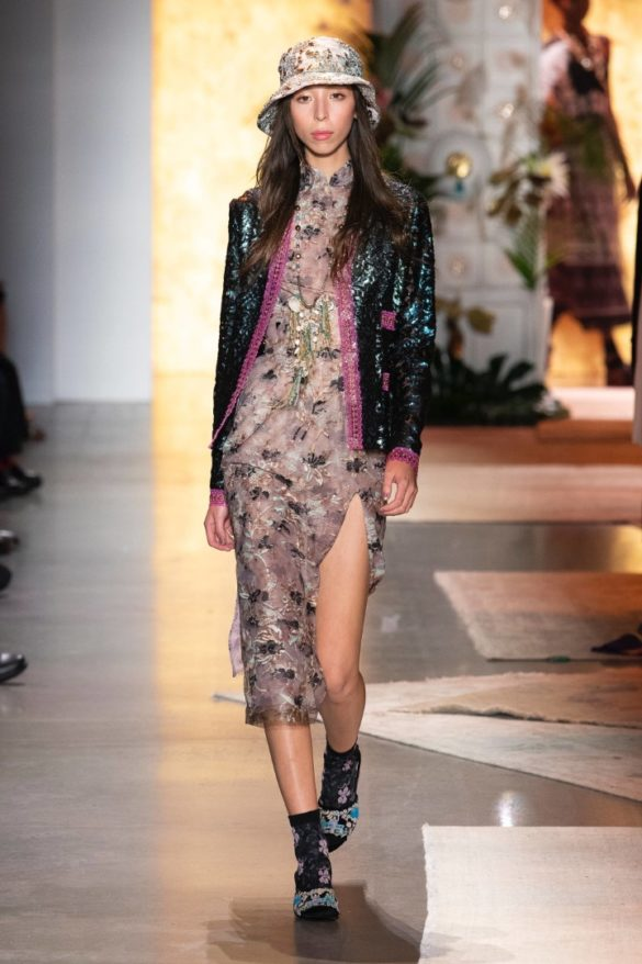 Anna Sui Spring-Summer 2019 Ready-to-Wear Collection - Photo 44