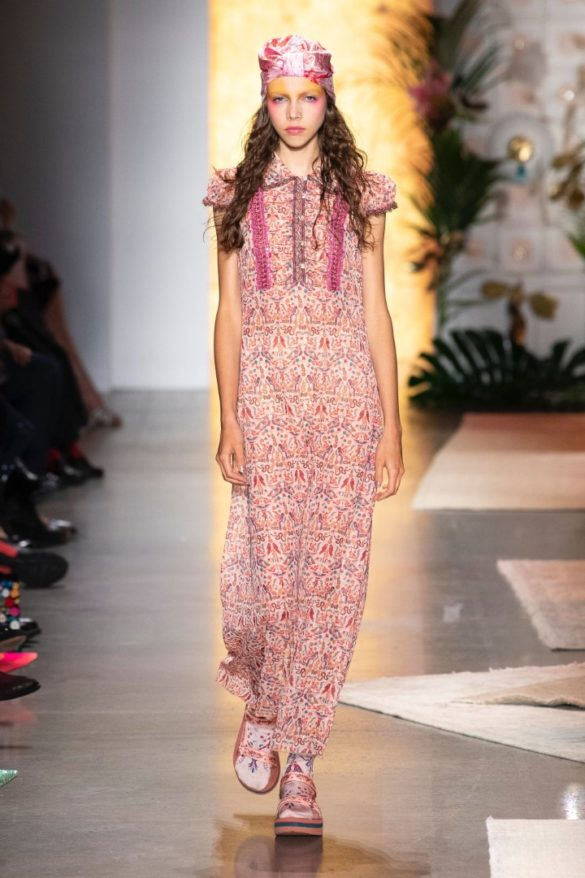 Anna Sui Spring-Summer 2019 Ready-to-Wear Collection - Photo 38