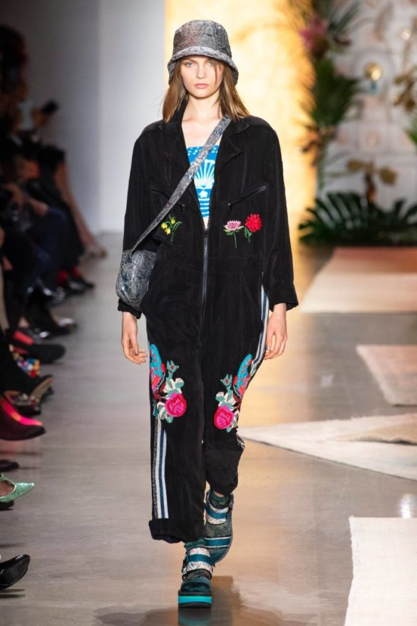 Anna Sui Spring-Summer 2019 Ready-to-Wear Collection - Photo 32