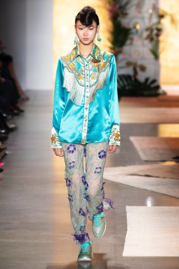Anna Sui Spring-Summer 2019 Ready-to-Wear Collection - Photo 26
