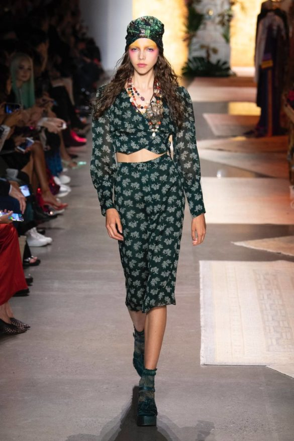 Anna Sui Spring-Summer 2019 Ready-to-Wear Collection - Photo 15
