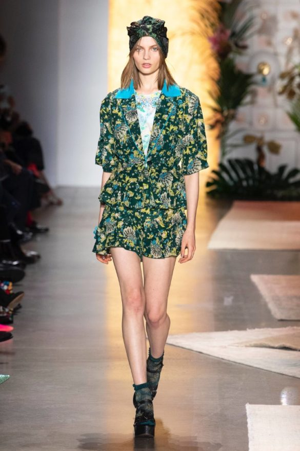 Anna Sui Spring-Summer 2019 Ready-to-Wear Collection - Photo 12