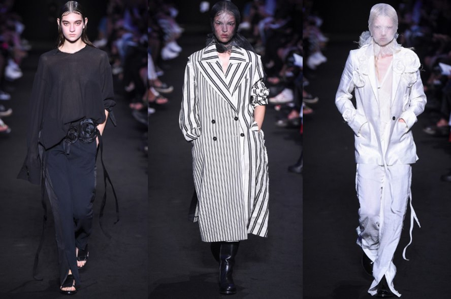 Ann Demeulemeester Spring 2019 Collection Runway Show - Featured Image