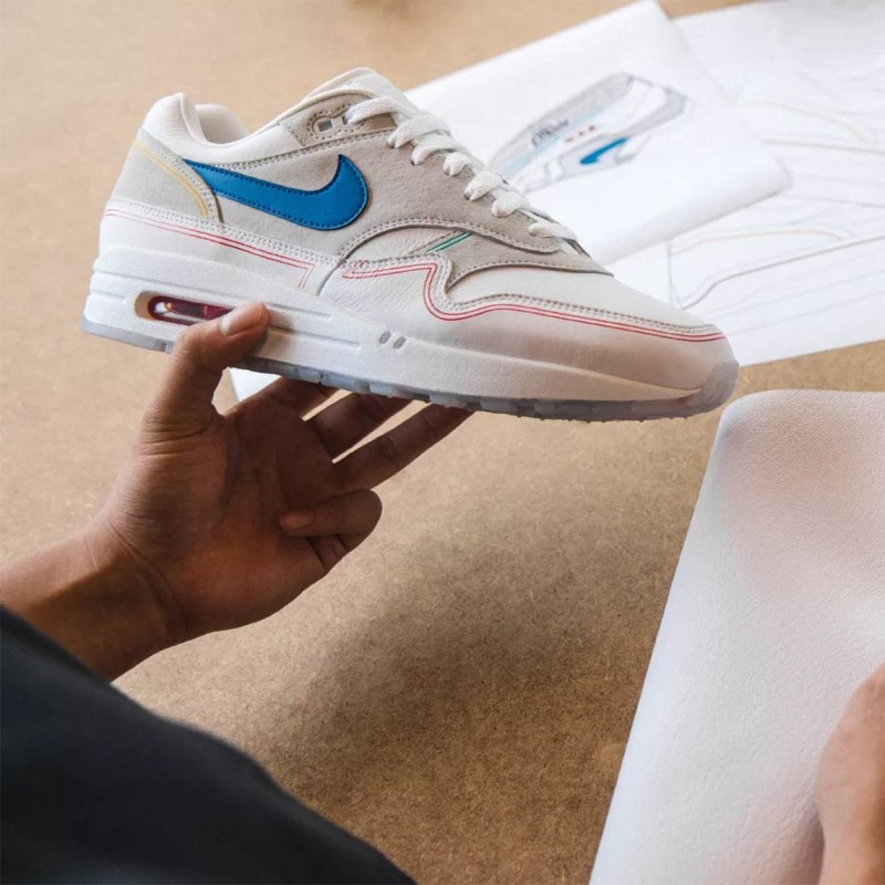 Nike Air Max 1 Pompidou by Day Sneakers Review 3