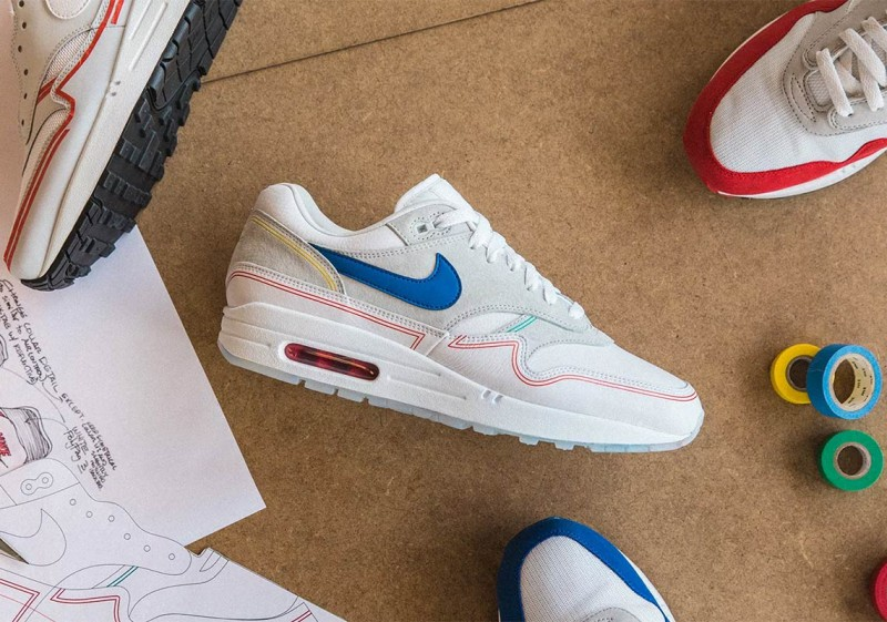 24150702d4f5f Nike Air Max 1 Pompidou by Day Sneakers Review 1