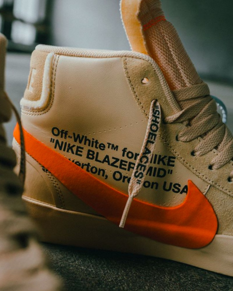 Off-White x Nike Blazer Mid All Hallows Eve Sneakers Review 4