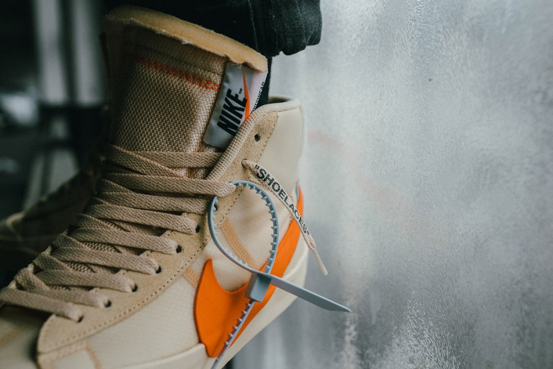 Off-White x Nike Blazer Mid All Hallows Eve Sneakers Review 3