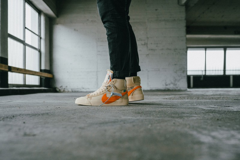 5af036888805 Off-White x Nike Blazer Mid All Hallows Eve Sneakers Review 2 ...
