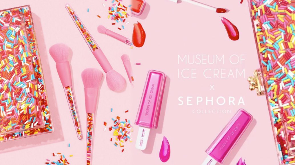 Indulge Your Sweet Tooth - Museum of Ice Cream Has A Makeup Collab - Featured Image