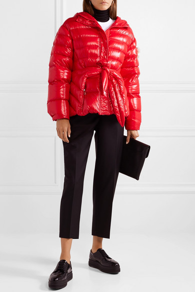 MONCLER-GENIUS-4-Simone-Rocha-embellished-belted-glossed-shell-down-jacket