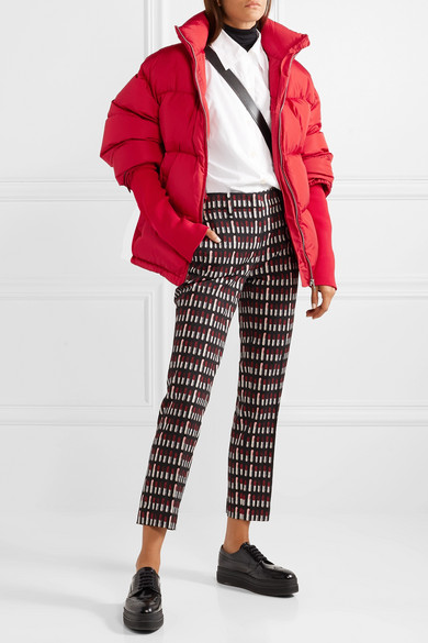 PRADA-Cropped-quilted-shell-down-jacket