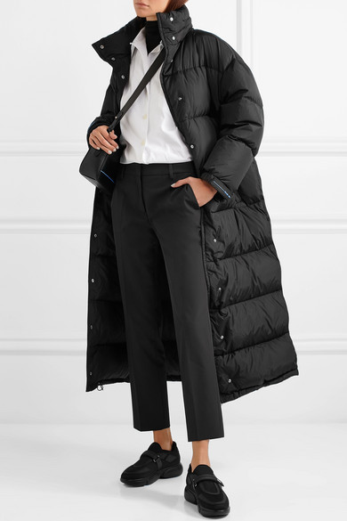PRADA Quilted shell coat