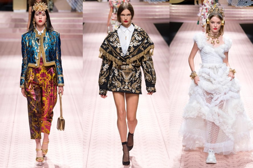 ac52b33c1d1 Dolce & Gabbana Spring Summer 2019 Ready-to-Wear Collection