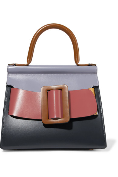 BOYY-Karl-24-buckled-color-block-leather-tote