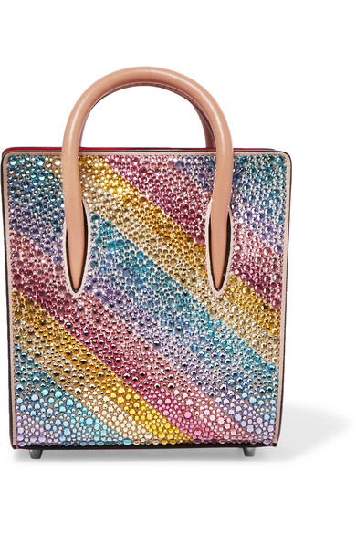 CHRISTIAN-LOUBOUTIN-Paloma-nano-embellished-metallic-textured-leather-tote