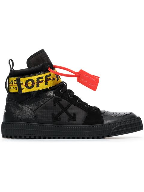 Black-Industrial-Hi-Top-Leather-Trainers