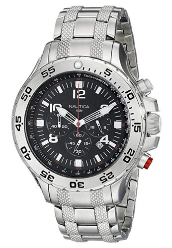 Nautica-N19508G-Resin-Silicone-Watch