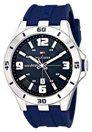 Tommy-Hilfiger-1791062-Watch-with-Blue-Silicone-Band