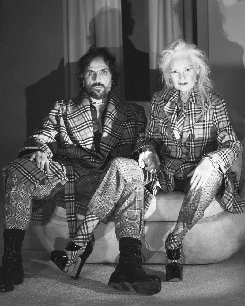 burberry x vivienne westwood collaboration is a celebration of