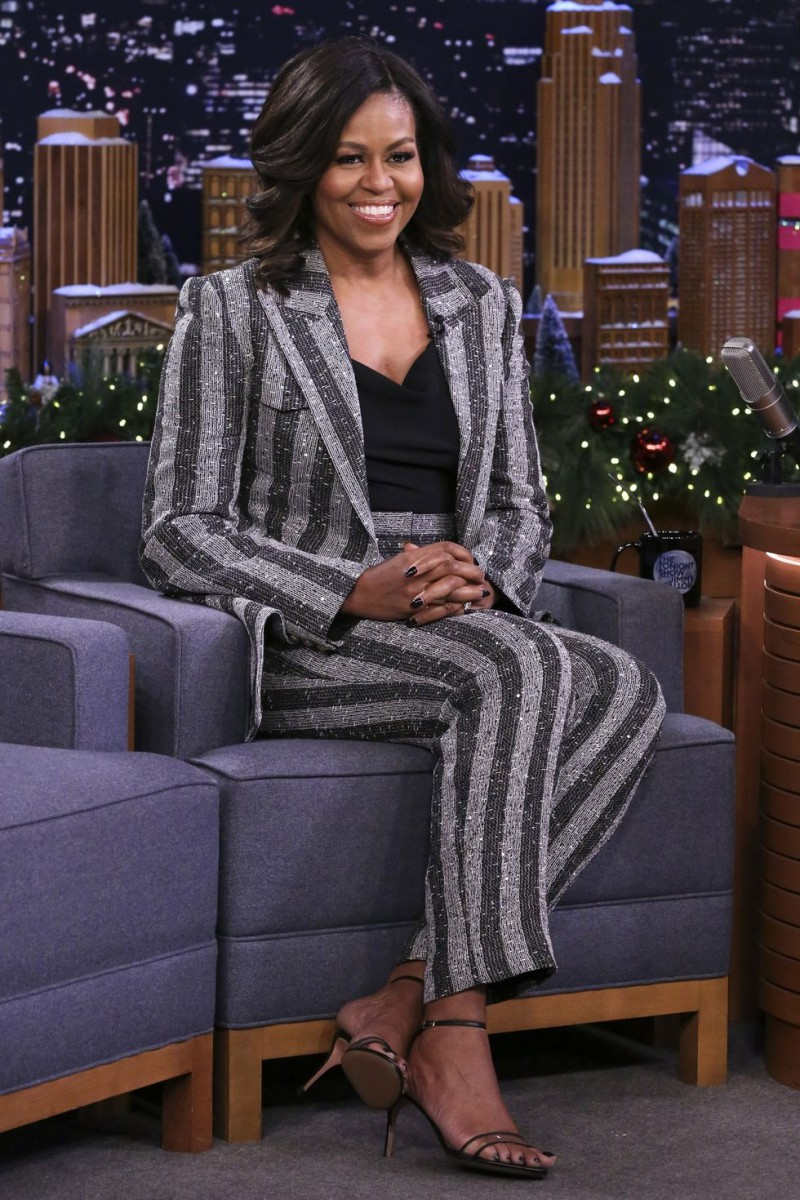 Here's-The-Sparkly-Balenciaga-Boots-Michelle-Obama-Wore-That-Had-Us-Talking-8