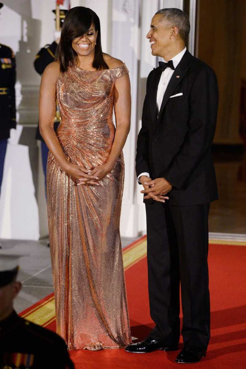Here's-The-Sparkly-Balenciaga-Boots-Michelle-Obama-Wore-That-Had-Us-Talking-12