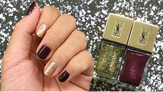 YSL-La-Laque-Couture-in-Prune-Metal-and-Gold-Magnet-1