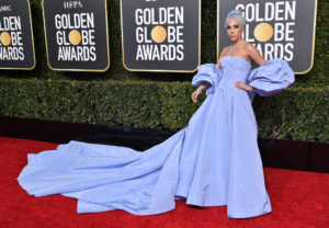 Lady Gaga in custom Valentino Haute Couture